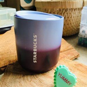 🌼 Starbucks ceramic double wall tumbler